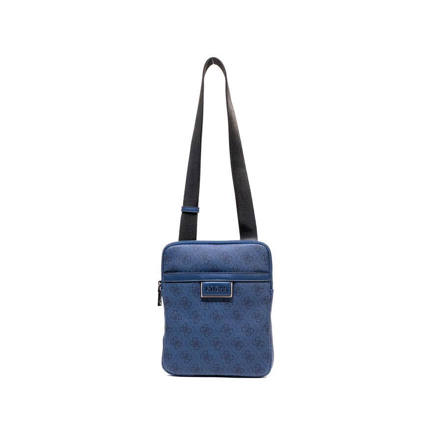 TRACOLLA GUESS MOD. VEZZOLA CON LOGO 4G ALL OVER COL. BLU