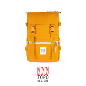 Topo Design Rover Pack Canvas - Mustard