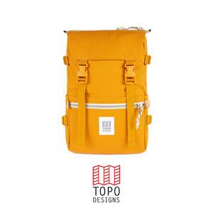 Topo Design Rover Pack Canvas - Mustard