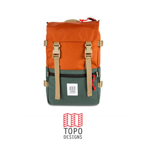 Topo Design Rover Pack - Clay/Forest