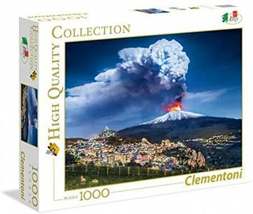 PUZZLE 1000 PEZZI HIGH QUALITY COLLECTION ETNA 69 X 50 CM CLEMENTONI