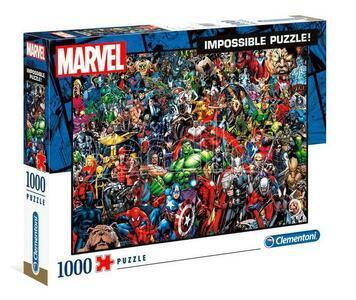 PUZZLE 1000 PEZZI MARVEL IMPOSSIBLE PUZZLE! 69 X 50 CM CLEMENTONI
