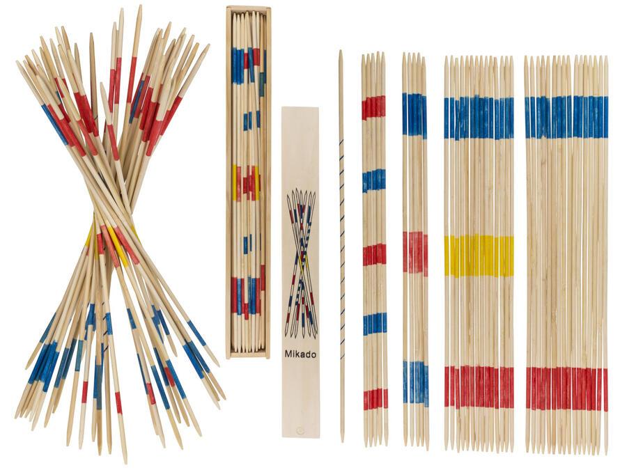 Gioco Shanghai Mikado da 42 cm in box di legno - OOTB 76/5207 -3+ anni