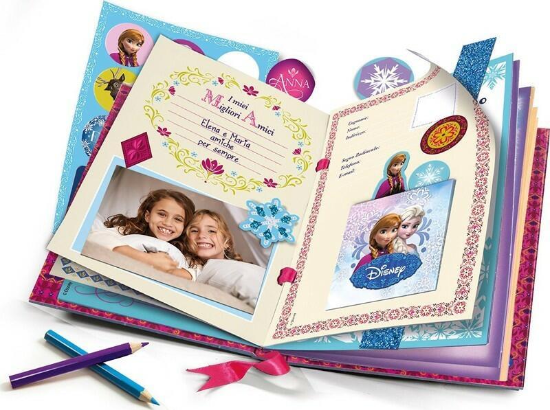 Frozen Diario Magico - Clementoni 15216 - 6+ anni