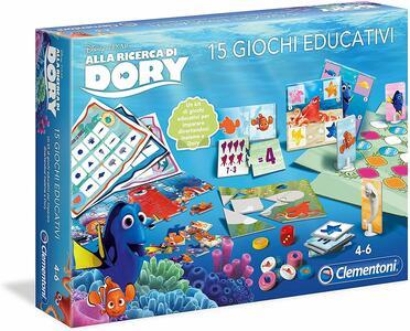 Alla Ricerca di Dory 15 Giochi Educativi - Clementoni 11864 - 4+ anni