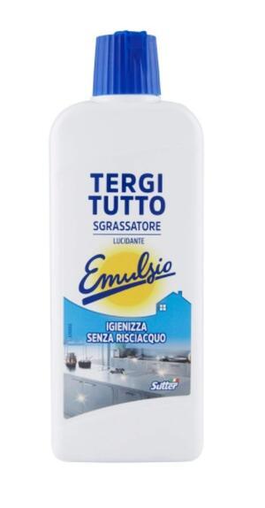 Emulsio Tergitutto Sgrassatore Liquido Universale Concentrato 375 ml