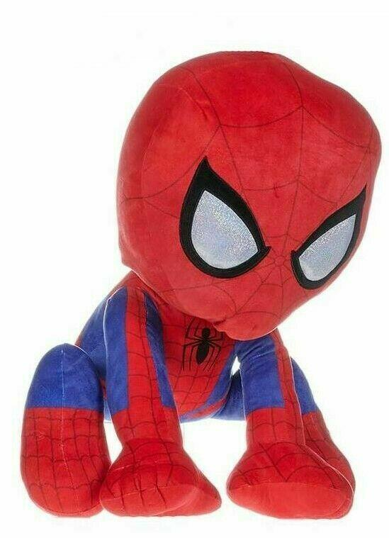 Spider-Man  Action Pose Peluche in velluto  90 cm - PTS 08028 - 0+