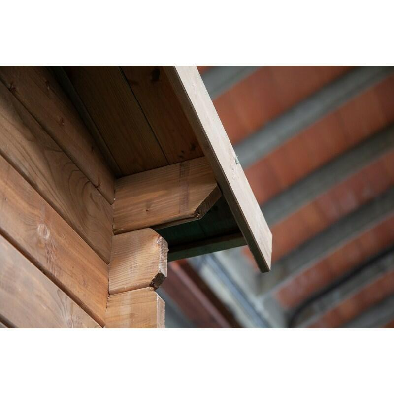 Casetta in legno 5,00 m x 4,00 m - Mod. Livorno - 40mm - Impregnata in autoclave - TRASPORTO INCLUSO