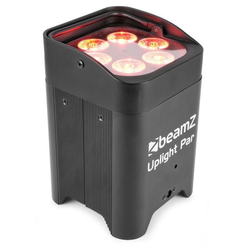 BeamZ -  BBP96 - Battery Uplight Par 6x12W