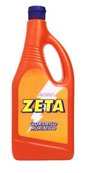Zeta - Acido, Cloridrico Muriatico - 780 Ml