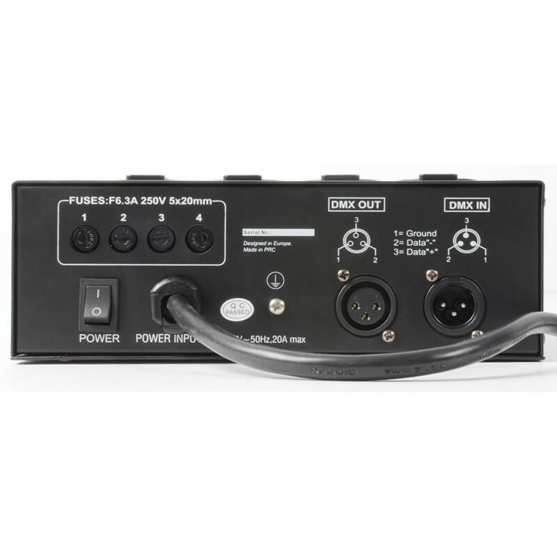BeamZ - DMX-004DII - Pack Switcher a 4 canali II