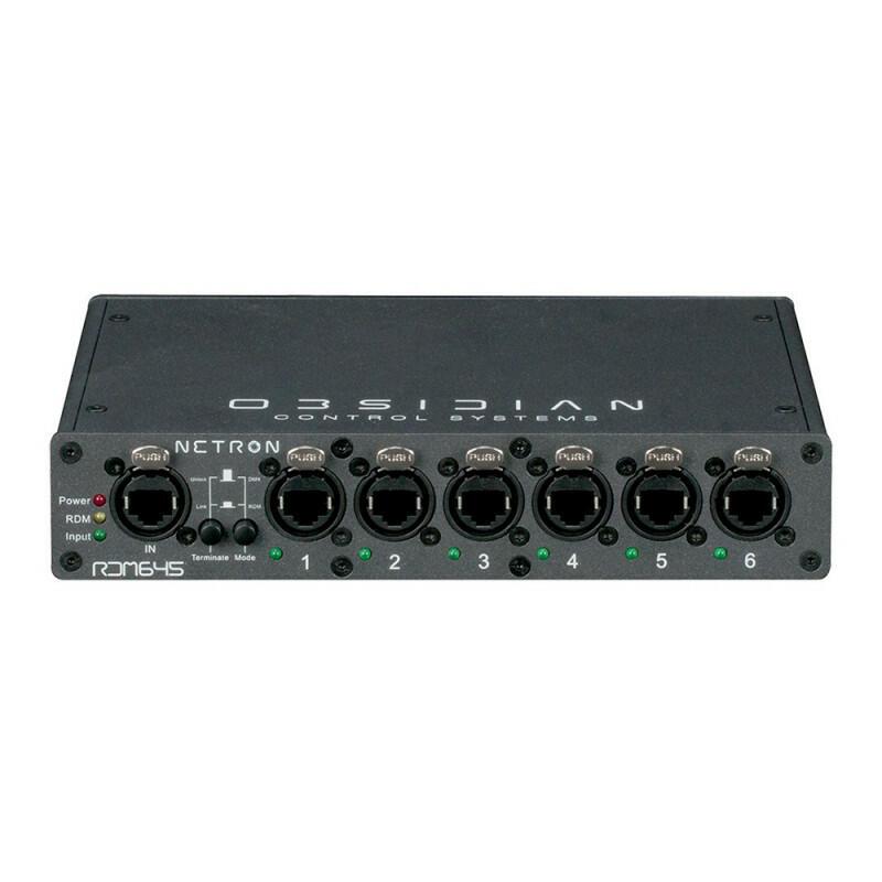 Netron - RDM645 - Splitter DMX / RDM