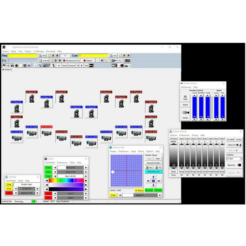 Elation Professional - LightJockey - Windows-based Controller Package