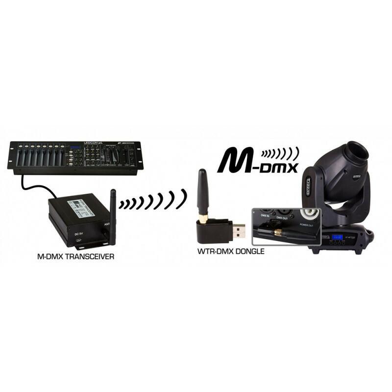 BriteQ - WTR-DMX DONGLE - Tranceiver dongle USB DMX wireless 2,4GHz