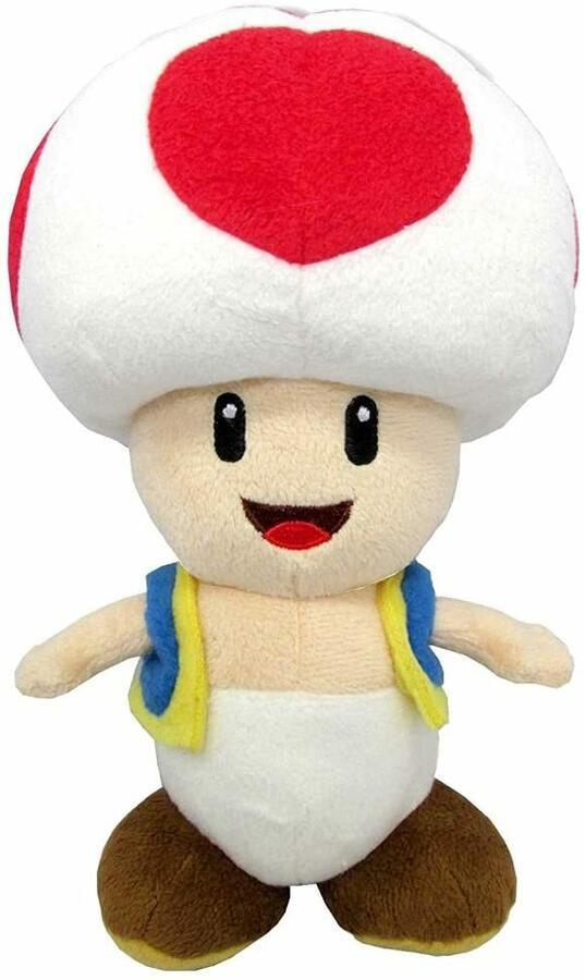 Toad Peluche 40 cm Super Mario Bros - PTS 5175T