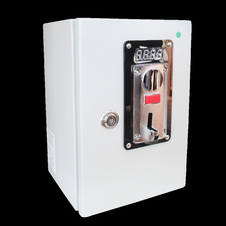 Gettoniera multimoneta Apriporta con display per serrature a 12Vcc