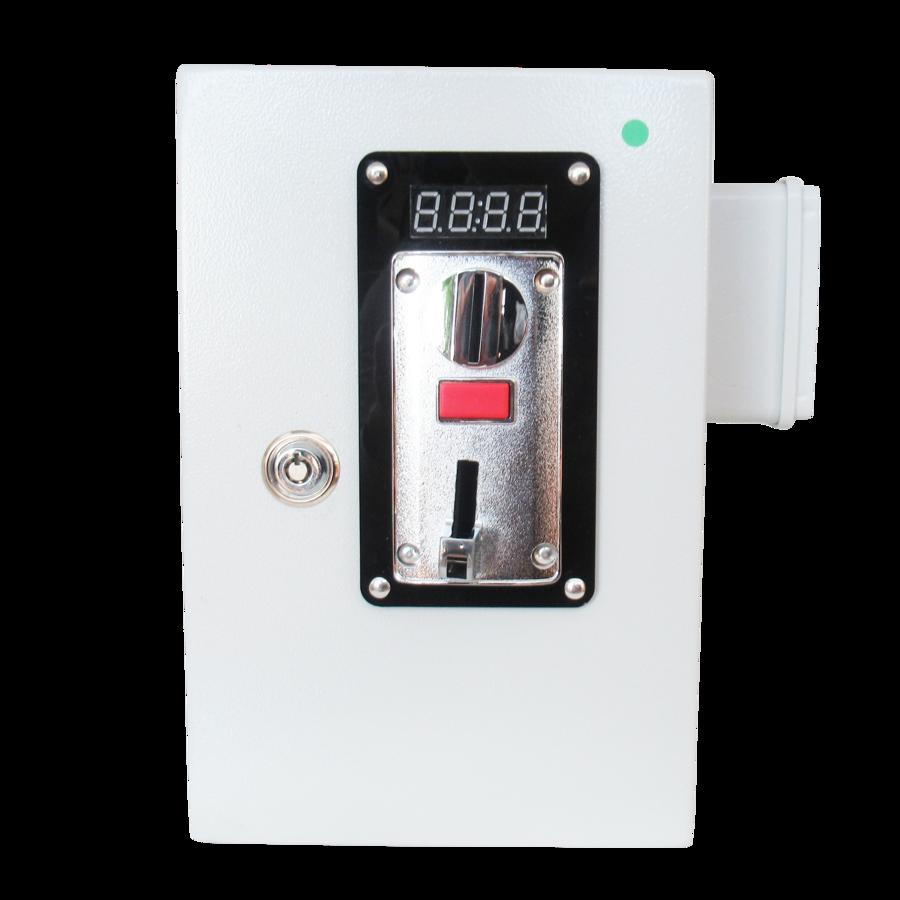 Gettoniera multimoneta Apriporta con display per serrature - contatto NA