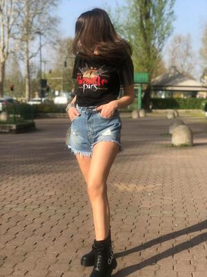 Shorts JB4 denim graffi
