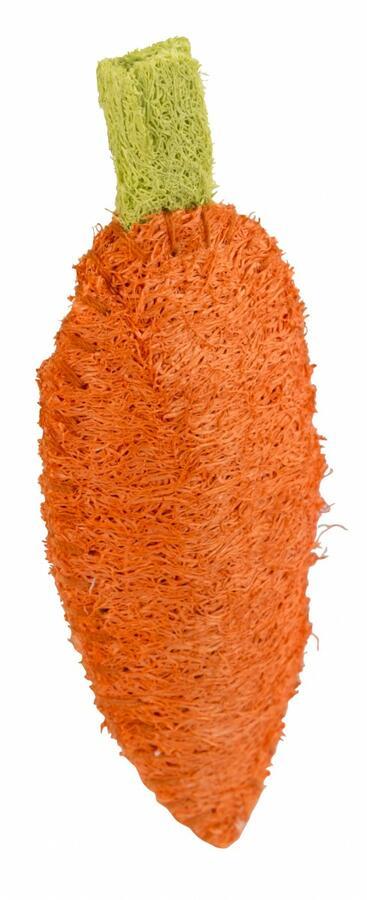 Kerbl Carota in Luffa Commestibile  10 cm