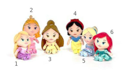 Principesse Disney Peluche 30 cm - PTS 1123