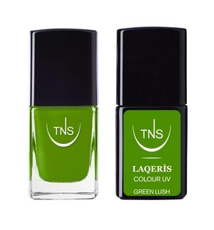 "TNS NAIL COLOUR ""GREEN LUSH"" 618"