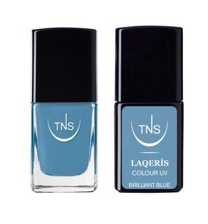 "TNS NAIL COLOUR ""BRILLIANT BLUE"" 610"