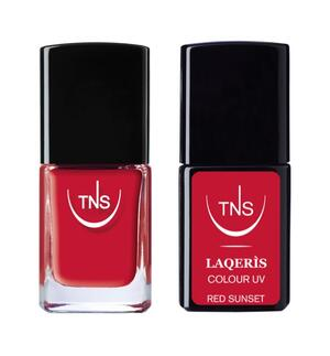 """TNS NAIL COLOUR """"RED SUNSET"""" 611"""
