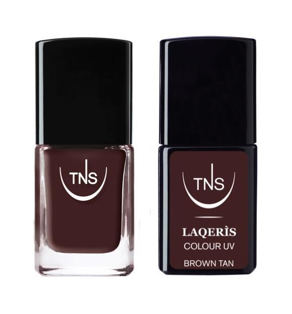 """TNS NAIL COLOUR """"BROWN TAN"""" 615"""