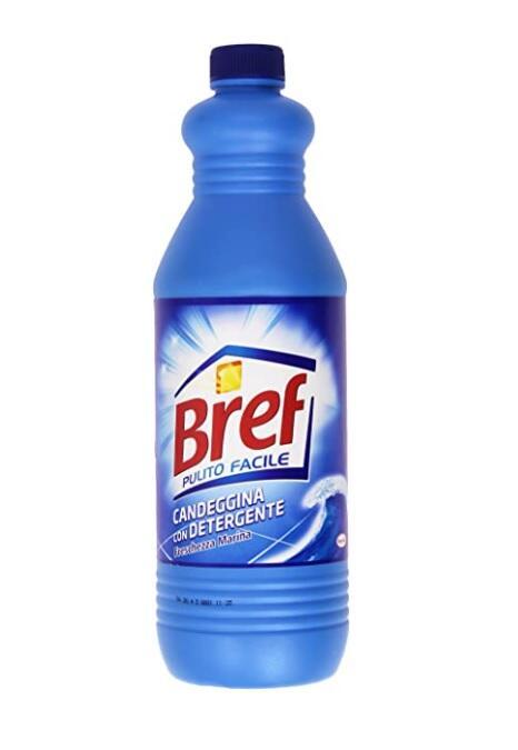 Bref - Candeggina con Detergente, Freschezza Marina - 1500 ml