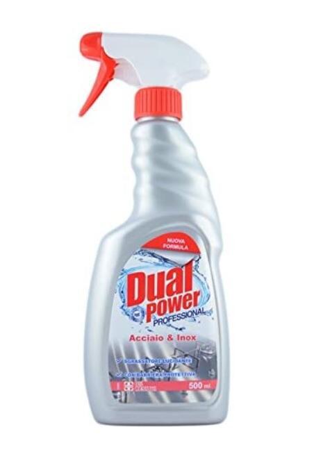 DUAL POWER ACCIAIO & INOX SPRAY 500ML