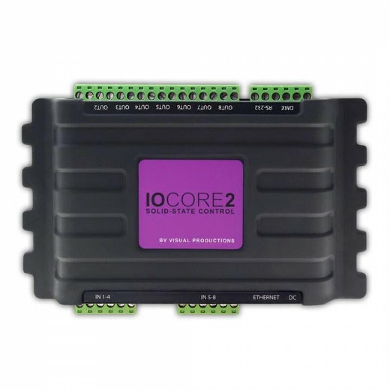 Visual Productions - IoCore2 - GPIO interface module