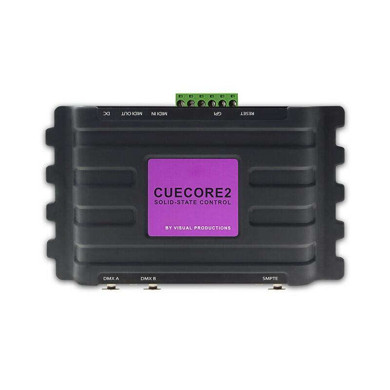 Visual Productions - CueCore2 - Controller illuminazione architetturale multiprotocollo