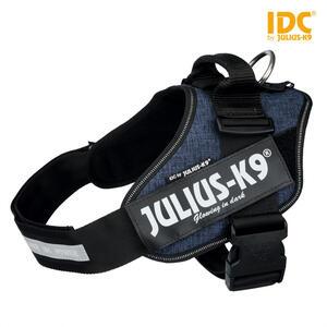 Julius k9 IDC Jeans Taglia 2XL 71-96 cm Peso 28-40 Kg Pettorina Per Cani