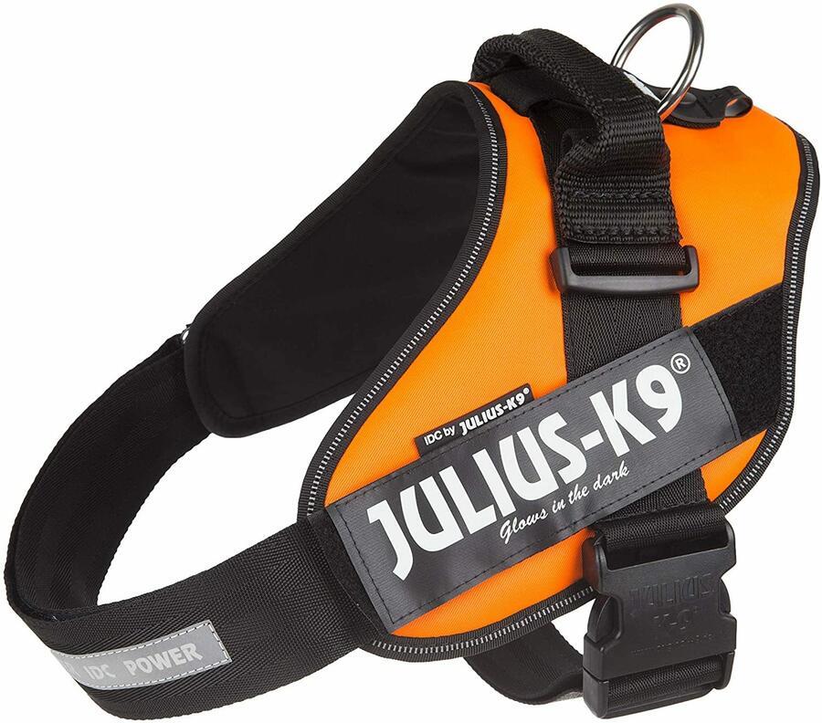 Julius k9 IDC Arancione Taglia M 0 58-76 cm peso 14-25 kg Pettorina Per Cani