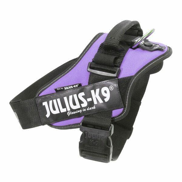 Julius k9 IDC Viola Taglia XS Mini Mini 40-53cm Peso 4-7 KG Pettorina Per Cani