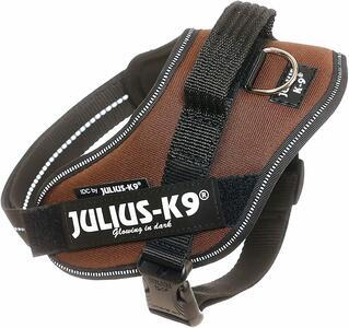 Julius k9 IDC Marrone S Mini 49-67 cm Peso 7-15 kg Pettorina Per Cani