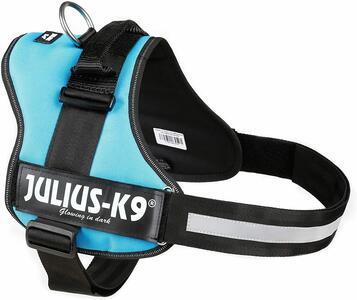 Julius k9 IDC Azzurra Taglia 3 XL 82-115 cm Peso 40-70 KG Pettorina Per Cani Celeste
