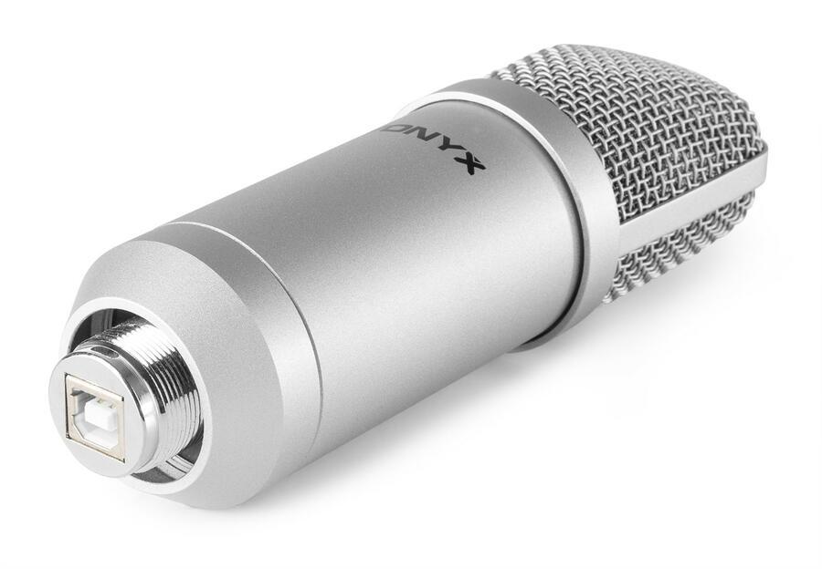 Vonyx - CMS300S SET MICROFONO DA STUDIO USB TITANIUM