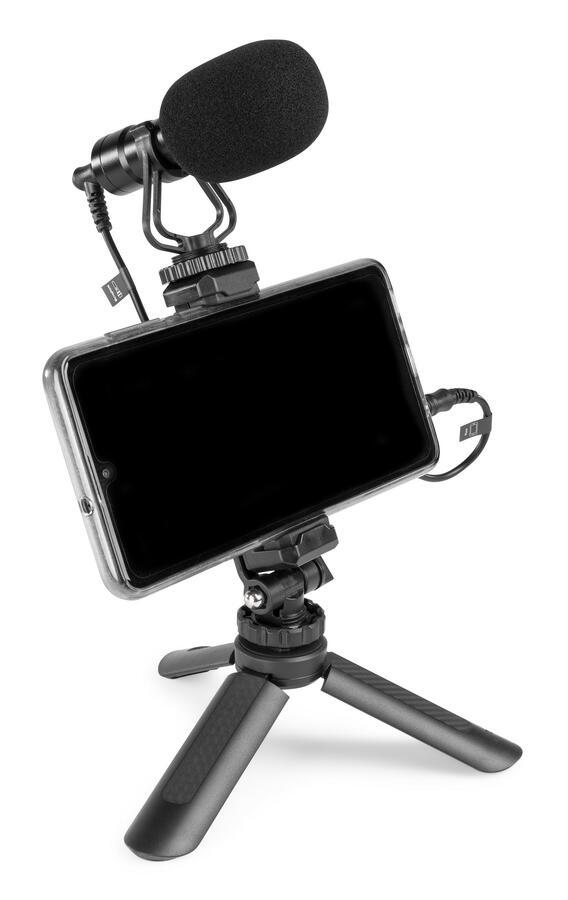 Vonyx - MICROFONO A CONDENSATORE PER TELEFONO E FOTOCAMERA CMC200
