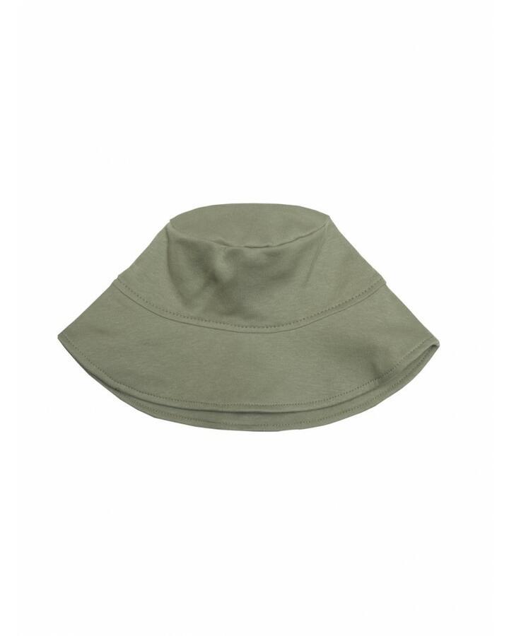 Cappello Pescatore in cotone gots Green - tg 50 (+ 18 mesi)