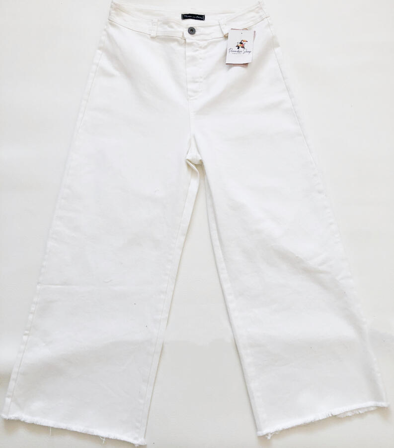 Jeans in cotone sfrangiato