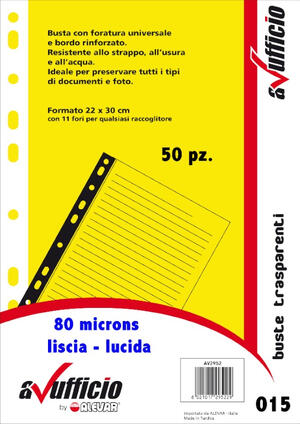 Buste forate universale A4 spessa WH80LIS