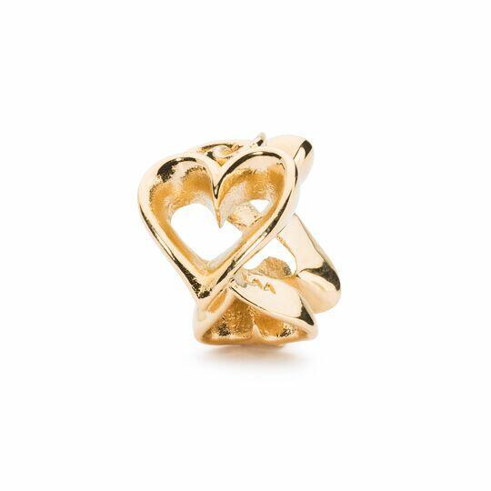 Amore infinito Trollbeads Oro