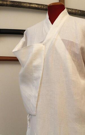 Naga Juban - kimono bianco