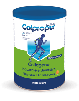 COLPROPUR ACTIVE - Collagene naturale e bioattivo - 330 g