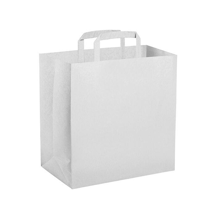 300 Shopper Take Away cm. 32x22 ht. cm. 33 bianche