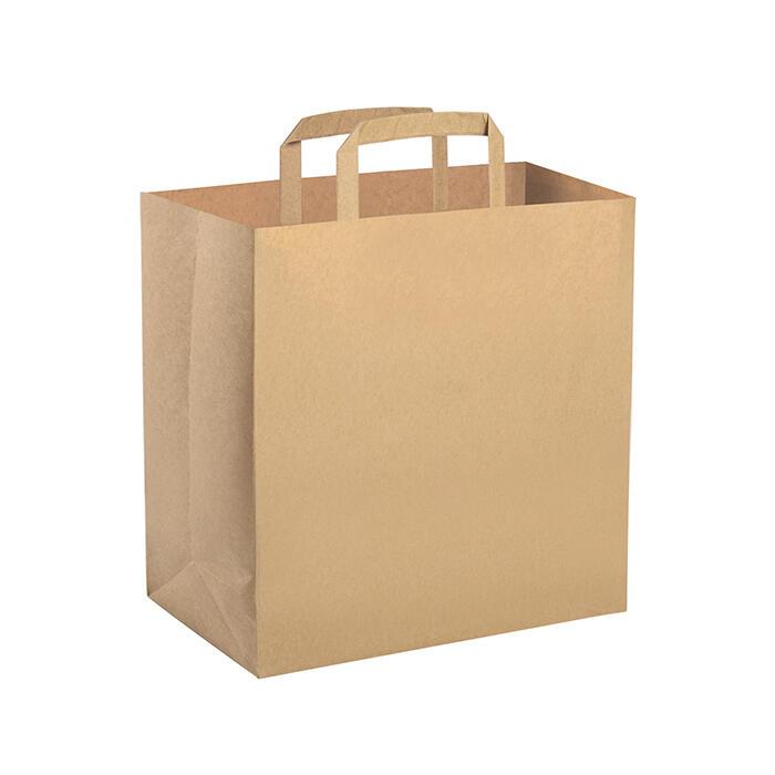 300 Shopper Take Away cm. 32x22 ht. cm. 33 avana