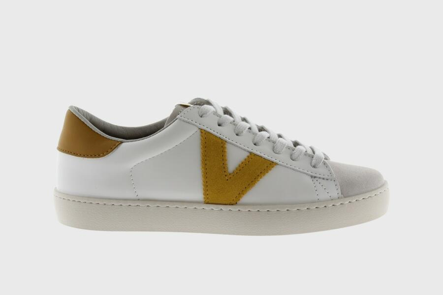 Victoria - Sneakers 1126142 - Bianco V Mostaza