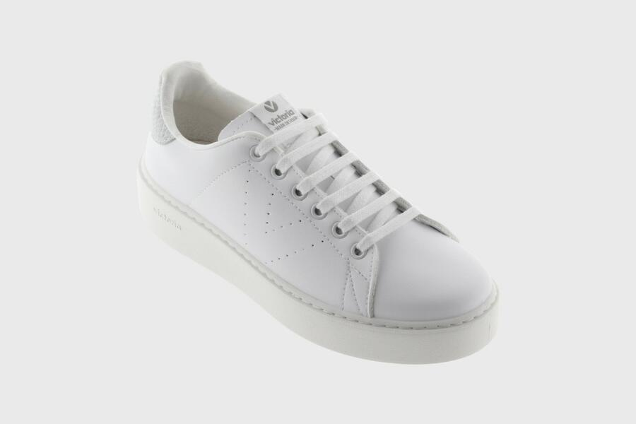 Victoria - Sneakers Zeppa 1260133 - Bianco