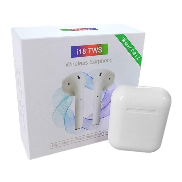 Auricolari senza fili i18 TWS Bluetooth 5.0  con IPX5
